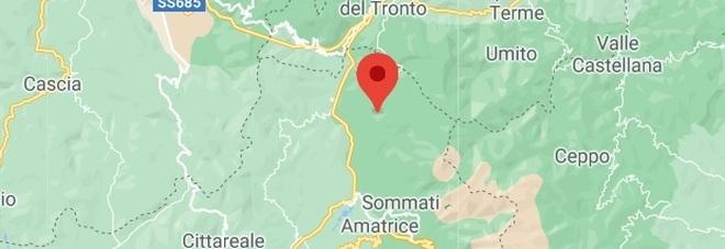 Terremoto ad Accumoli di magnitudine 3.0 avvertito in tutta la provincia di Rieti