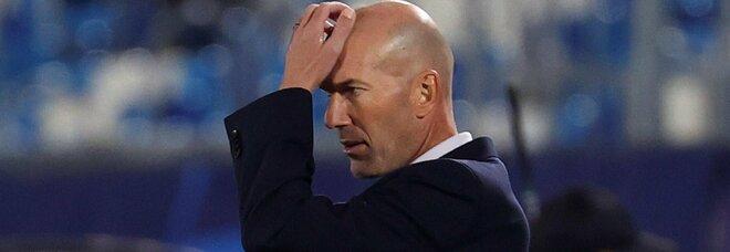 Real Madrid, la crisi di Zidane: «Sono in bilico, ma non mi preoccupo»