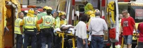 Crolla il cantiere del Hotel Ritz, un morto e 11 feriti a Madrid