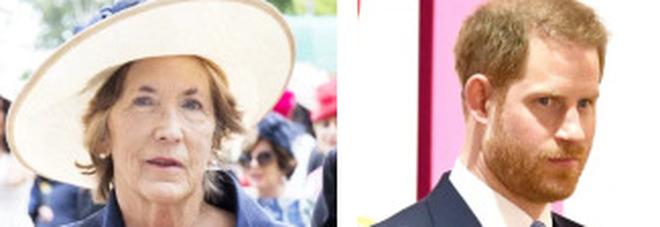 Harry in lutto, è morta l'adorata madrina Lady Celia Vestey: il principe telefona da Los Angeles ai familiari