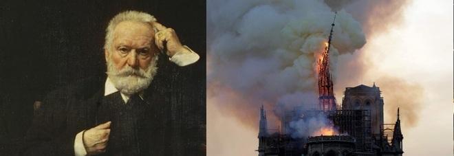 Incendio a Notre Dame, l'incredibile profezia di Victor Hugo: «Il tempo è cieco e l'uomo è stolto»