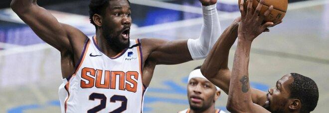 Nba, Durant porta i Nets alla vittoria: bene anche New Orleans, ko i Raptors a Denver