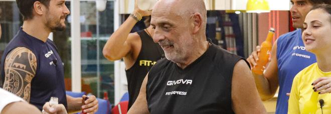 Signorini salva Paolo Brosio dalla squalifica:« Non ha bestemmiato», poi si infuria: «Basta spettacolarizzare la fede»