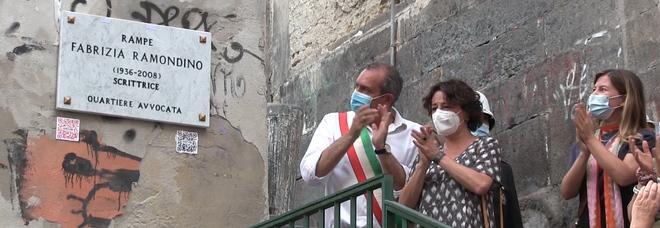 Napoli, il Comune intitola la scalinata alla scrittrice Fabrizia Ramondino