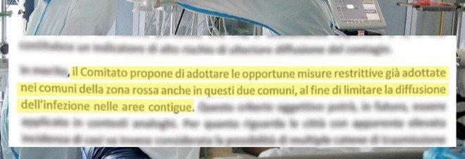 Coronavirus, il Cts propose zona rossa per Alzano e Nembro il 3 marzo