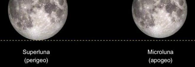 Nella notte della Super Luna anche un'eclissi, ma non sarà visibile dall'Italia