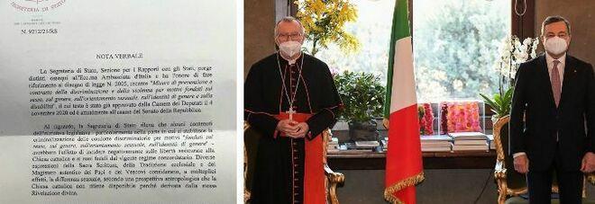 Vaticano e ddl Zan, Parolin: «Non si chiede di bloccare la legge. D'accordo con Draghi, Stato è laico»