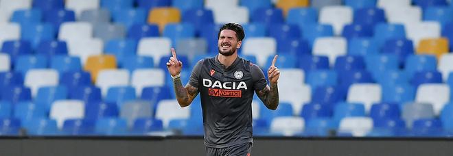 Napoli-De Paul, l'Udinese apre: «Tante offerte, sarà lui a decidere»