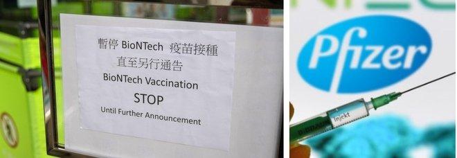 Vaccini, «imballaggi difettosi»: Hong Kong e Macao annunciano lo stop all'uso di Pfizer