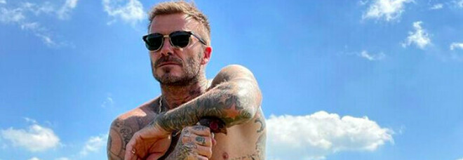 Beckham fermato ad Amalfi ma un selfie evita la multa