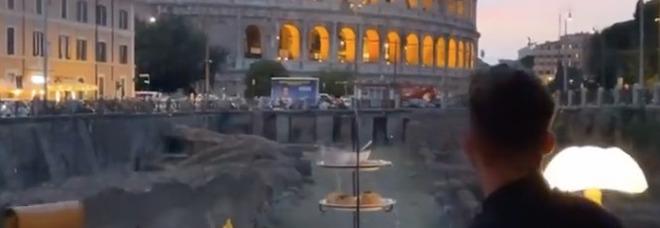 Mertens si gode il giorno di relax: l'azzurro è a Roma con Kat