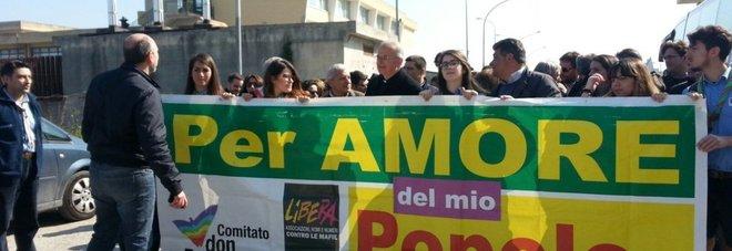 Don Diana, messaggio di Mattarella  «La camorra verrà sradicata»