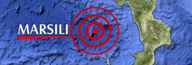 Forte scossa di terremoto in pieno Mar Tirreno