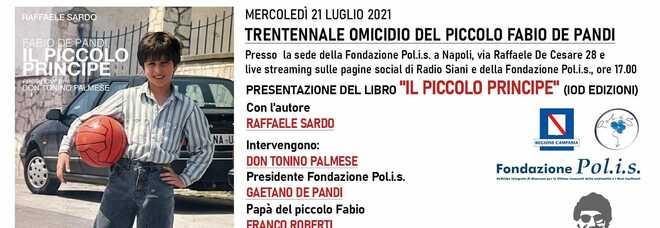 """Fabio De Pandi """"Il piccolo principe"""", la presentazione mercoledì dalle 17"""