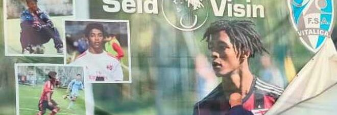 Un campo intitolato al giovane Seid: «Continueremo la battaglia per lui»