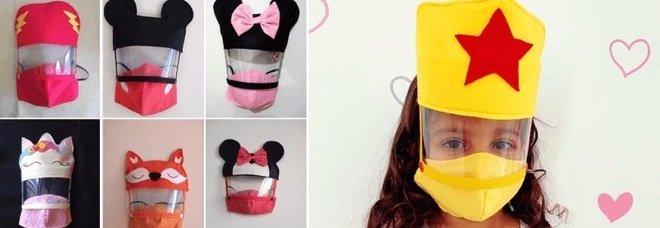 Brasile, il virus dilaga: una maestra crea mascherine da supereroi per convincere i bambini a proteggersi