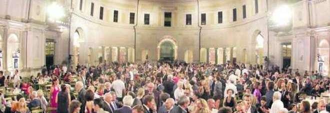 Il Ninfeo di Villa Giulia durante lo Strega