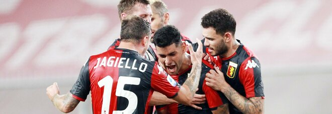 Il Genoa batte il Verona 3-0 e si salva: è il trionfo di Nicola