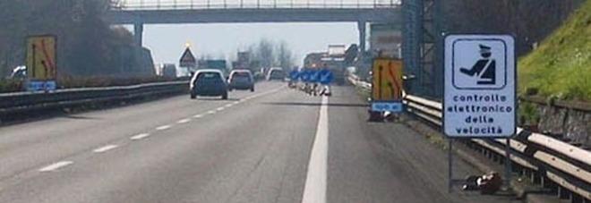 Emergenza incidenti in autostrada: da lunedì tornano gli autovelox