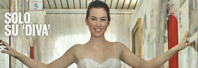 Micol olivieri incinta a 21 anni prove d 39 abito da sposa col pancino a luglio sposo christian - Diva sposa salerno ...