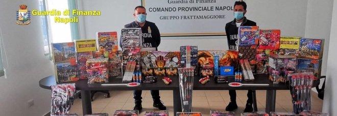 Natale a Napoli, sequestrata una tonnellata di botti pericolosi: un arresto