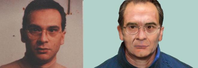 L'ultima foto reale di Messina Denaro e il suo volto di oggi ricostruito al computer