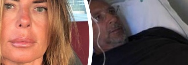 Lucio Presta con il polso rotto, Paola Perego infermiera per amore: «Torno a casa per curarlo, in salute e malattia»