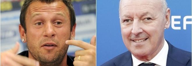 Cassano-Marotta, continua il botta e risposta tra l'ad dell'Inter e Fantantonio: «Non sa niente di calcio»