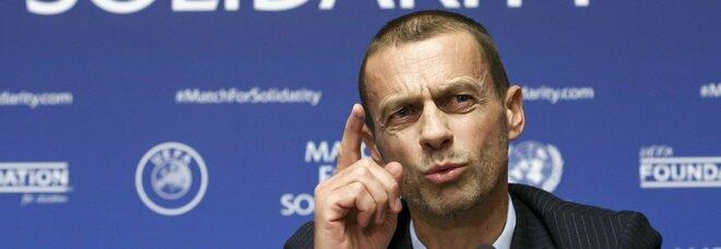 Superlega, Uefa sospende tutto: la Juve giocherà la Champions