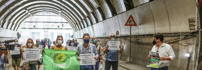 Galleria Vittoria di Napoli, dopo 10 mesi via libera al cantiere: «Lavori dal 2 agosto»