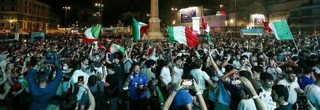 A Roma un contagio su 7. «È l effetto degli Europei»
