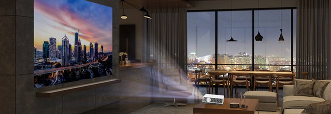 Con i nuovi proiettori LG Cinebeam 4K UHD il salotto di casa si trasforma in Home Cinema