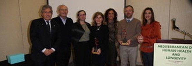 Premio Giovan Giacomo Giordano, riconoscimento agli studiosi della dieta mediterranea
