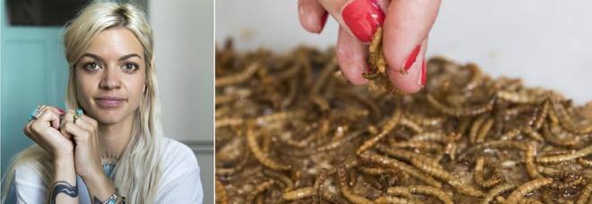 Andrea Staudacher, la chef degli insetti che vive in Svizzera: «Contengono proteine»