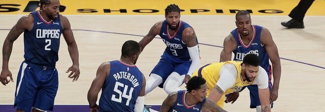 Lakers Clippers NBA