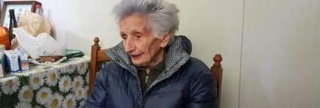 Nonna Peppina in ospedale: è la donna simbolo del terremoto