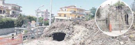 Napoli, dai lavori per un marciapiedi spuntano nuovi tesori archeologici