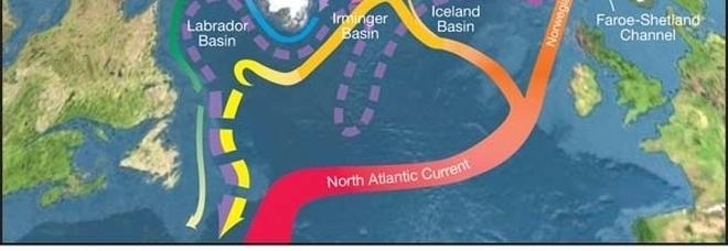 La Corrente del Golfo rallenta, l'Europa rischia fenomeni climatici estremi