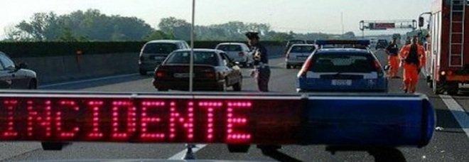 Incidente sull'autostrada Roma-Napoli, chiuso il tratto tra Cassino e Caianello