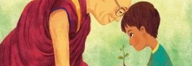 Lezioni d'amore, per Nord-Sud il primo libro per bambini del Dalai Lama illustrato da Bao Luu