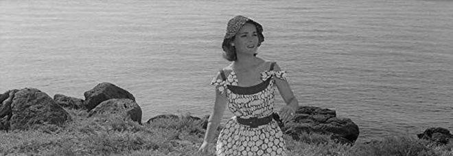 L'attrice Dominique Blanchar in