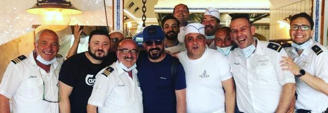 Gattuso, weekend a Positano: l'ex azzurro si gode la Costiera