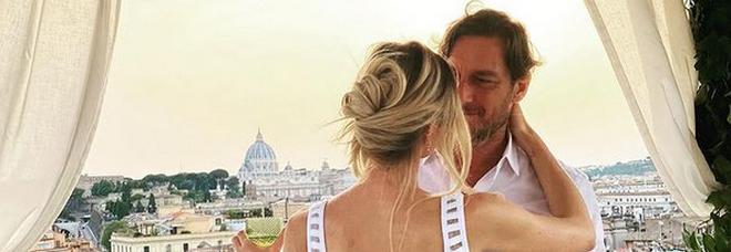 Francesco Totti e Ilary Balsi festeggiano il sedicesimo anniversario di matrimonio (Instagram)