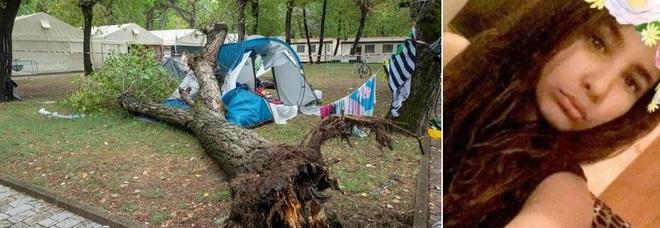 Due sorelline morte in campeggio a Marina di Massa, albero travolge la tenda, fratello illeso