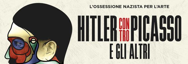 la locandina di Hitler contro Picasso e gli altri