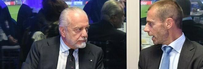 Napoli, l'assist arriva dalla Uefa? Coppe a rischio per Juve e Milan