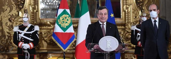 Governo diretta, Draghi a colloquio al Quirinale da Mattarella con la lista dei ministri
