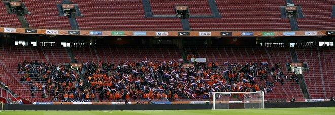 Covid, Europei: Olanda e Spagna aprono gli stadi. San Mames e Johann Cruijff Arena al 25%