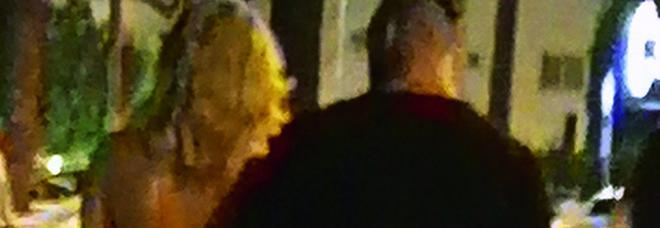 Diletta Leotta col puglie Daniele Scardina (Spy)