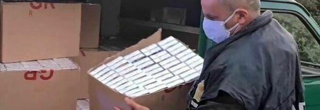 Contrabbando di sigarette a Caserta, 12 indagati, tutti col reddito di cittadinanza